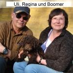 Boomer mit seiner Regina und seinem Uli